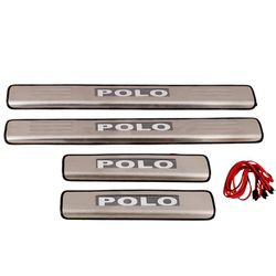 Door Sill Plates Light For Volkswagen Polo
