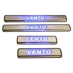 Door Sill Plates Light For Volkswagen Vento