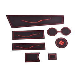 KMH Non Slip Mat For Nissan Terrano Set of 7 PCS