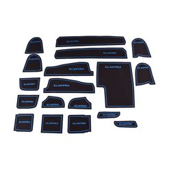 KMH Non Slip Mat For Hyundai Elantra Set of 18 PCS