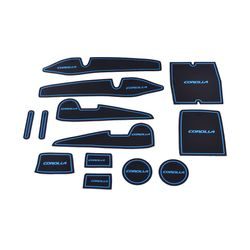 KMH Non Slip Mat For Toyoto Corolla Set of 13 PCS