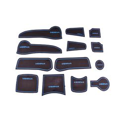 KMH Non Slip Mat For Hyundai Verna Set of 13 PCS