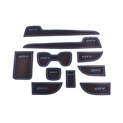 KMH Non Slip Mat For Honda City 2009-2013 Set of 10 PCS