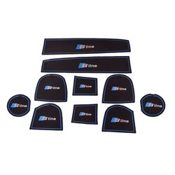 KMH Non Slip Mat For Audi S Line Set of 10 PCS