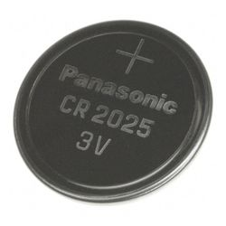 Panasonic CR2025 3V Lithium Coin Cell Battery