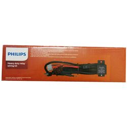 Philips H4 Relay Wiring Kit 130/100W Lamps 12003XM