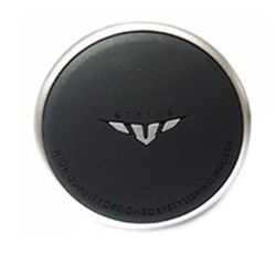 Status Mini Power Sterring Knob (Black With Grey)