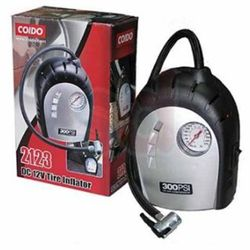 Coido 2123 Electronic Car Tyre Inflator & Air Compressor Pump