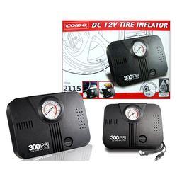 Coido 2115 Electric Car Tyre Inflator Air Compressor, 12V