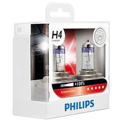 Philips Xtreme Vision H4 Bulb (60/55W 100% More Light)