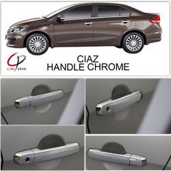 KMH Handle Cover for Ciaz (Set of 8 Pcs) (Chrome)