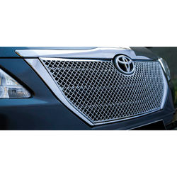 KMH Front Grill Bentley Design for Innova 2015 (Set of 1 Pc) (Chrome)