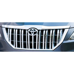 KMH Front Grill Prado Design for Innova 2015 (Set of 1 Pc) (Chrome)