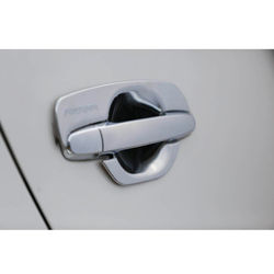 KMH Handle Bowl for fortuner (Set of 4 Pcs) (Chrome)