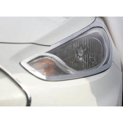 KMH Head Light Cover for Verna Fluidic (Set of 2 Pcs) (Chrome)