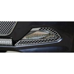 KMH Front Bumper Lower Grill  for I20 Elite (Set of 3 Pcs) (Chrome)