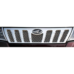 KMH Front Grill for Xuv500 2015 (Set of 1 Pc) (Chrome)