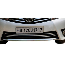 KMH Front Bumper Grill for Altis 2014 (Set of 3 Pcs) (Chrome)