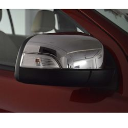 KMH Mirror Cover for ford Endeavour (Set of 2 Pcs) (Chrome)