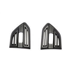 KMH Side Vent Cover for ford Endeavour (Set of 2 Pcs) (Black)