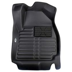KMH Leatherite 5D Mats for Skoda  Octavia (Black)
