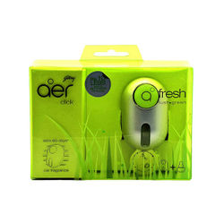 Godrej Aer Car Freshener CLICK (11ml) - Fresh Lush Green