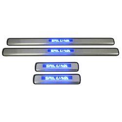 Door Sill Plates Light For Chevrolet Sail-Uva