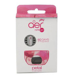 Godrej Aer Car Freshener CLICK Refill (11ml) - Petal Crush Pink