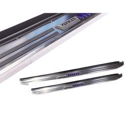 KMH Thrnder Running Board Design Side Stepper for Mahindra Tuv300 (170 CMS)