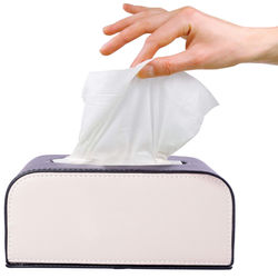KMH Tissue Box -100 Pulls (200 Sheets)-2 Ply For Volkswagen Jetta
