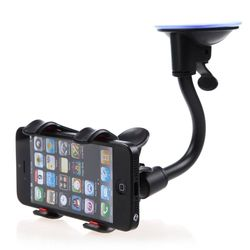 Soft Tube Car Mobile Holder With Suction Cup