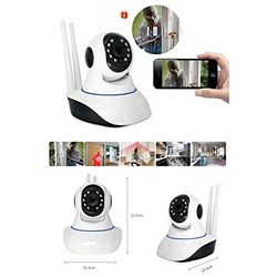 Wireless HD IP Wifi CCTV Indoor Security Camera Stream Live Video in Mobile