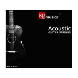 SG Musical Acoustic Guitar Strings - SGMASG01