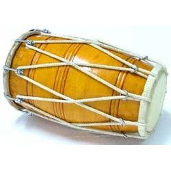 SG Musical Special Dholak, Sheesham Wood With Tuning Spanner Free Carry Bag