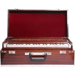 02 - SG Musical Folding Safri Harmonium, A440, 42 Keys, Coupler/Box Harmonium