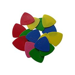 Delrin Thin Triangle Guitar Picks - 15 Pieces (Buy One Get One Free)