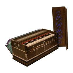 SG Musical Harmonium, Deluxe, 11 Knob, Dark Free Carry Bag