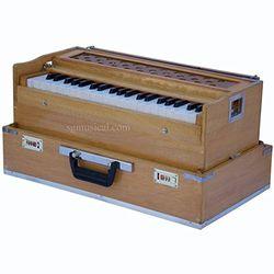 SG Musical Folding Harmonium Natural Coupler Free Padded Gig Bag