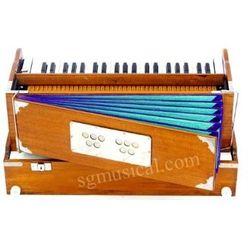 SG Musical Folding Harmonium 9 Stop Natural