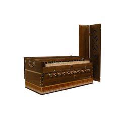 SG Musical Harmonium,11 Knob, Dark Free Padded Carry Bag