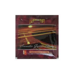 Karuna Acoustic Guitar Stainless steel Strings (pack Of 6)