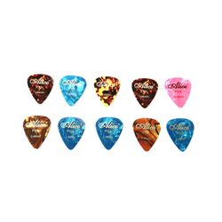 Alice 10 Pcs Guitar Plectrums Pick Standard Style 0.46mm