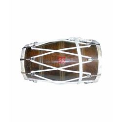 SG Musical Tahli Nut Bolt and Rope Fitting Dholak Free Carry Bag