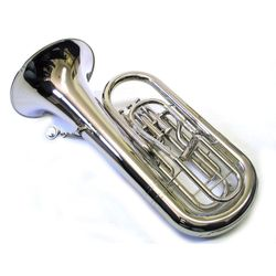 SG Musical S505 White Brass Euphonium  Freebie