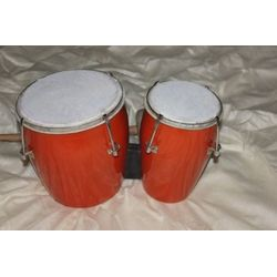 SG Musical Bongo Drum Natural With Central Tuning Key