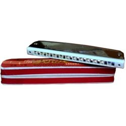 Tower Mouth Organ Harmonica(Silver)