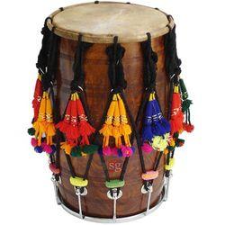 SG Musical Punjabi Wooden Bhangra Mango Dhol