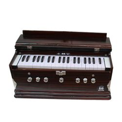 08-SG Musical Double Bellow Harmonium - TBT01