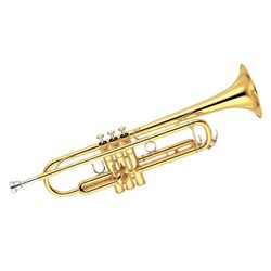 SG Musical SX4-2 Trumpet, Gold, Bb  Freebie