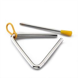 SG Musical Pro-Silver plated Triangle 8 inch